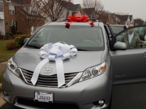 The Sienna is ready to be delivered!