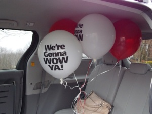 "Our ""WOW Ya"" Balloons are ready!"