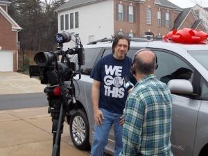 Ken is interviewed by NBC4